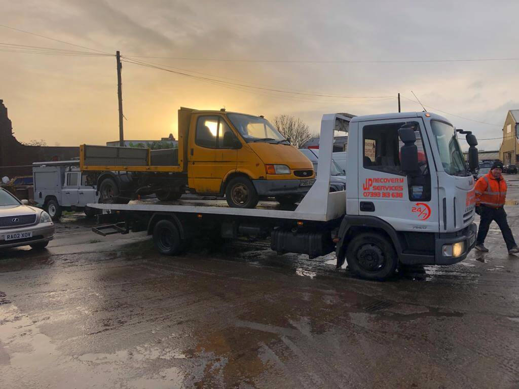 Car Recovery Emergency Wirral