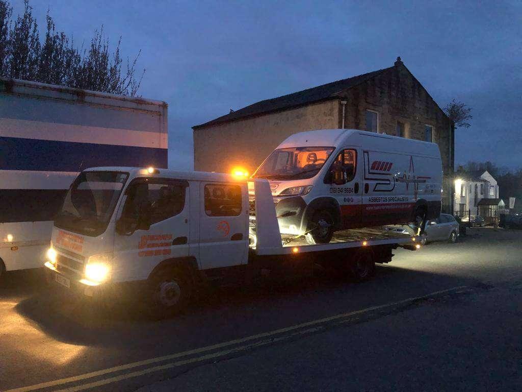 Emergency recovery Warrington